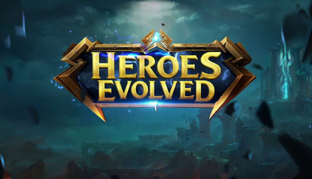 game moba populer Heroes evolved