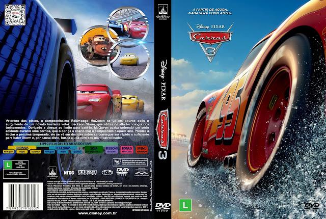 Capa DVD Carros 3 [Custom]