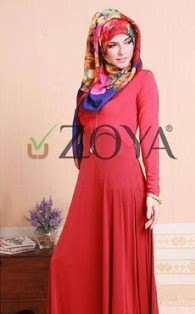 Model Baju Muslim Zoya Keluaran Terbaru Untuk Lebaran