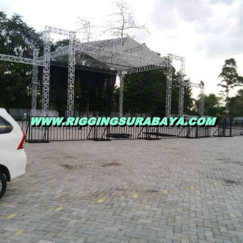 Cara Pasang Rigging Stage Panggung Konser