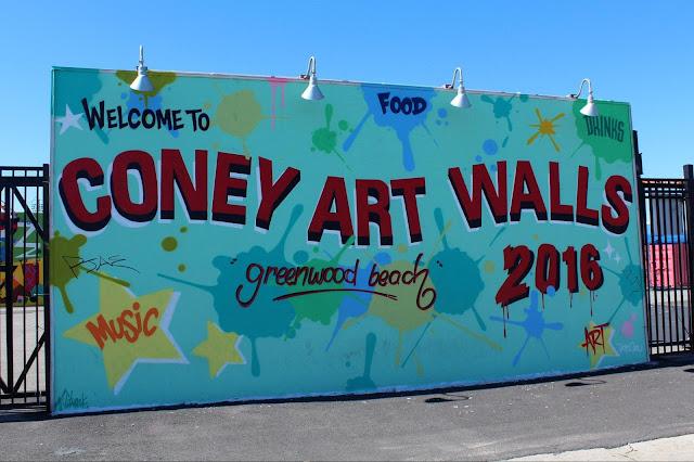 Coney Art Walls : la galerie d'art extérieure de Brooklyn
