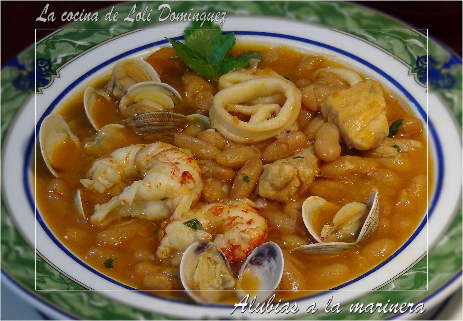 La cocina de loli dom nguez alubias a la marinera for Lavarropas en la cocina