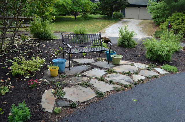 Smart Girls DIY: Flagstone Patio