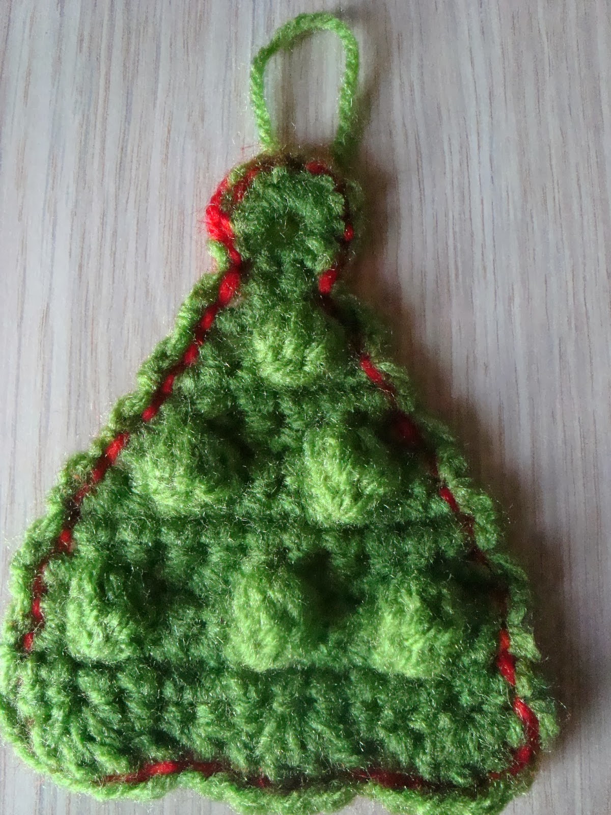 Handmade by camelia pattern three ornaments crocheted for christmas christmas tree ornament bankloansurffo Choice Image