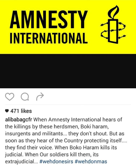 Alibaba shades Amnesty International