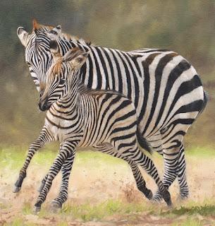 un-mundo-salvaje-pinturas-de-animales retratos-animales-salvajes
