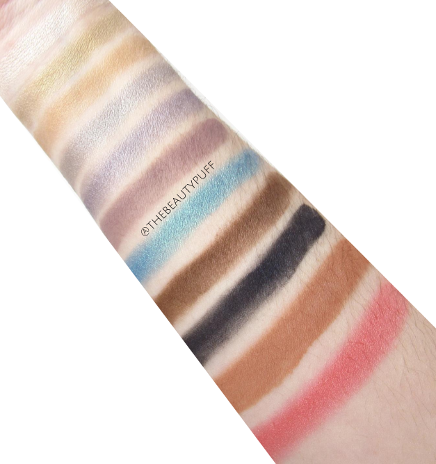 ittse swatches - the beauty puff