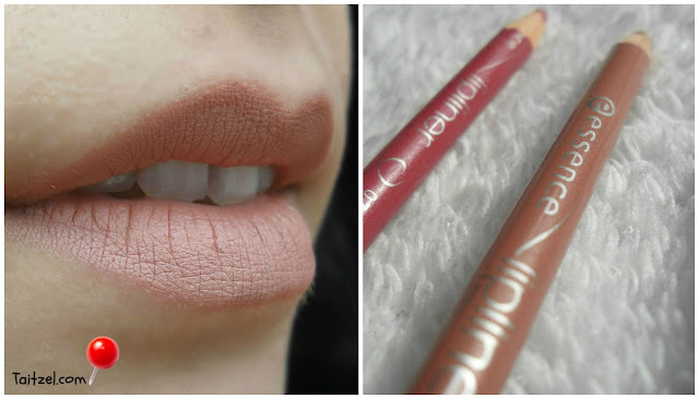 Essence lip liner - In the nude