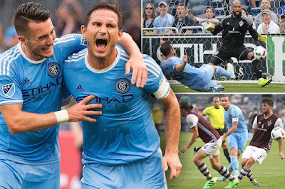 Lampard turned into the primary man in the historical backdrop of NYCFC to score three times in an amusement as the establishment expanded their lead on top of the Eastern Conference