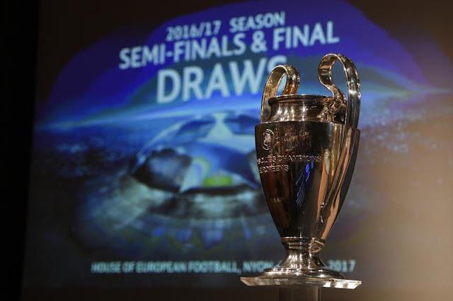 Hasil Undian Semi Final Liga Champions 2016/2017 dan Prediksi Singkatnya