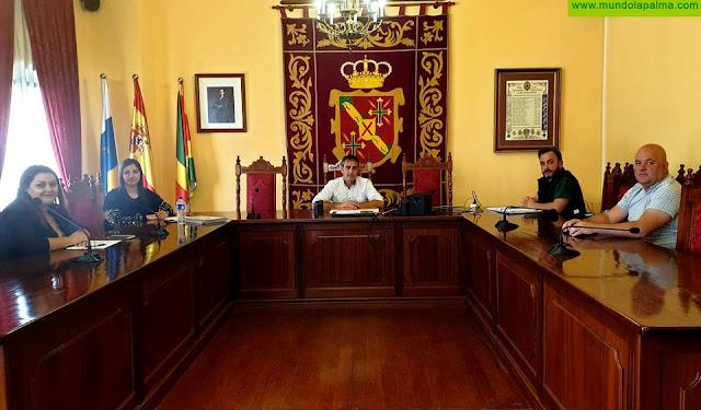 La Mesa de Trabajo del Ayuntamiento de San Andrés y Sauces acuerda priorizar la atención de los servicios esenciales