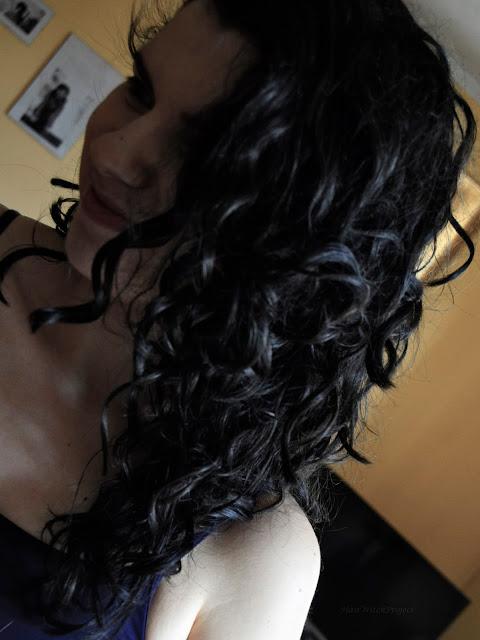 czarne włosy | kręcone | loki | pielęgnacja | spa