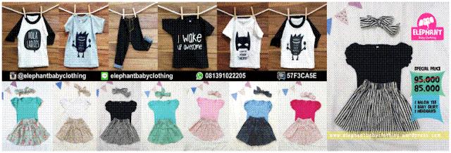 Usaha Baju Anak Elephant Baby Clothing