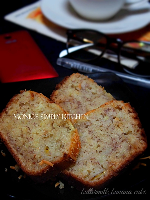 resep buttermilk banana bread