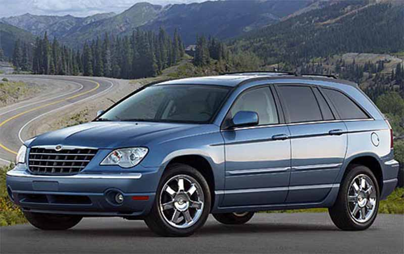 Automotive database chrysler pacifica cs 2007 chrysler pacifica front 34 view fandeluxe Image collections