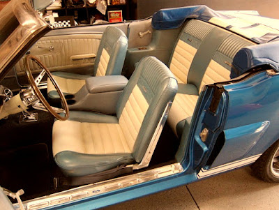 1966 Ford Mustang GT 350 Sport Convertible Interior Seat