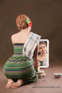 Shwe Zin Myanmar Girl