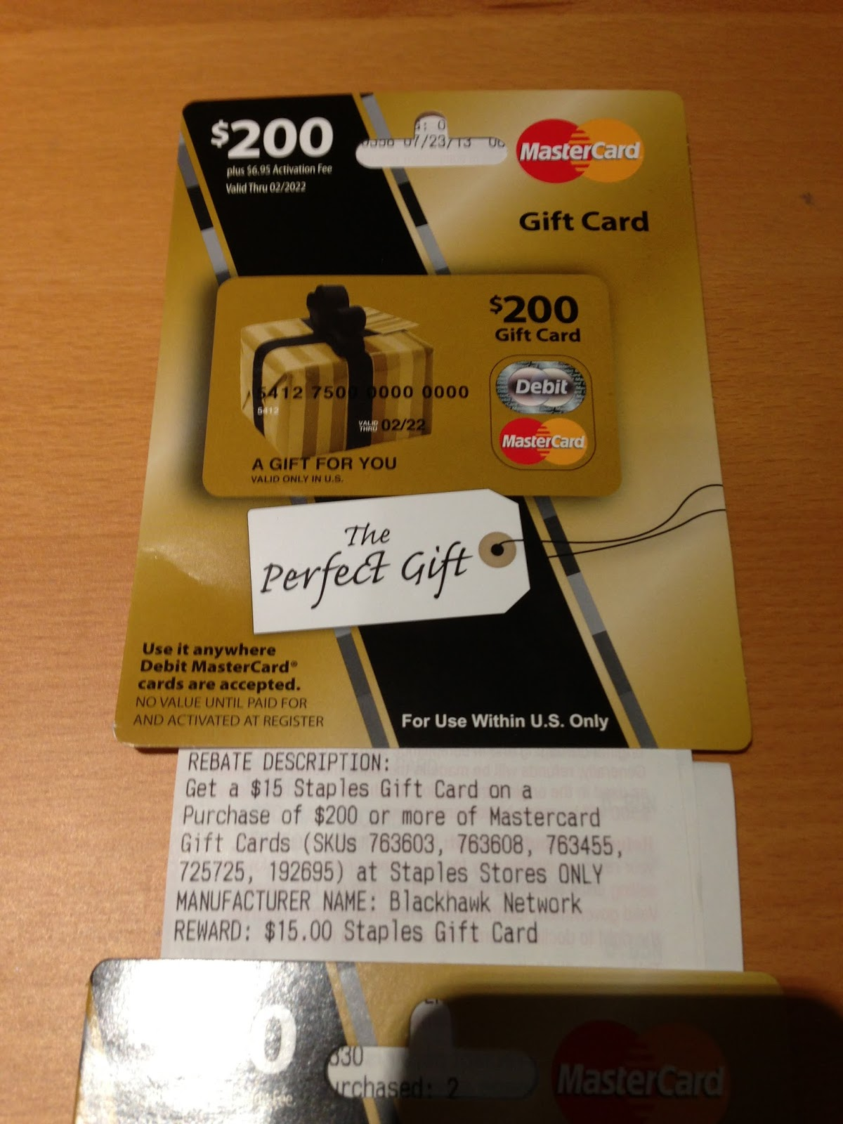 staples visa gift card rebate staples mastercard gift card pin lamoureph blog 8652