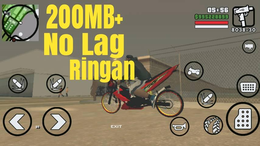 GTA SA Lite Versi Indonesia APK + Data 200MB