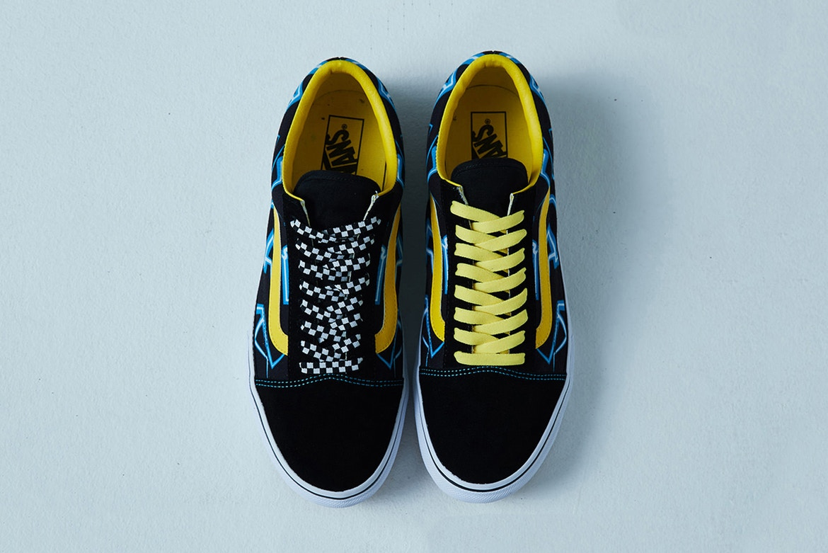 34589f85c9f A perfect complement to ms's quirky and flamboyant aesthetic, this pair  sports a hard to miss look. With black ...