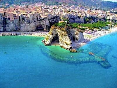 Costa de Calabria, Italia.