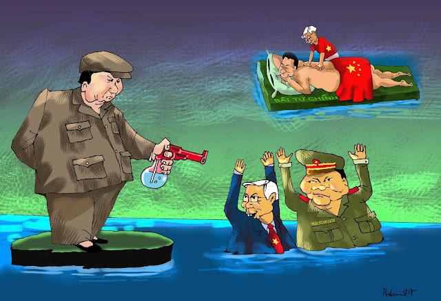 Việt Nam đang chết đuối ở biển đông