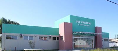 Nova unidade de saúde da família (USF)  Central Dr. Edinei Rodrigues será inaugurada no sábado 5/05