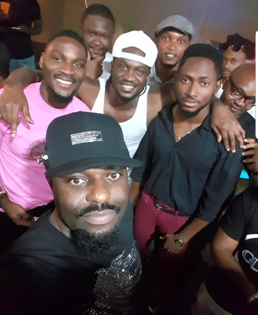 Phyno, Timaya, Jim Iyke, Tobi Bakre, Miracle, others at Paul Okoye