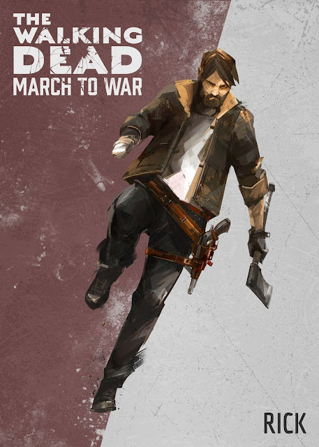 The Walking Dead: March to War - Rick