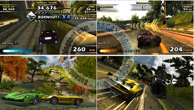 Download Burnout Dominator ISO High Compress ppsspp