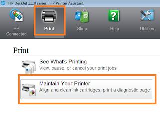 Maintenance Printer HP Deskjet