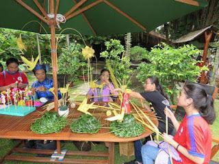 Một số sự kiện xếp lá dừa