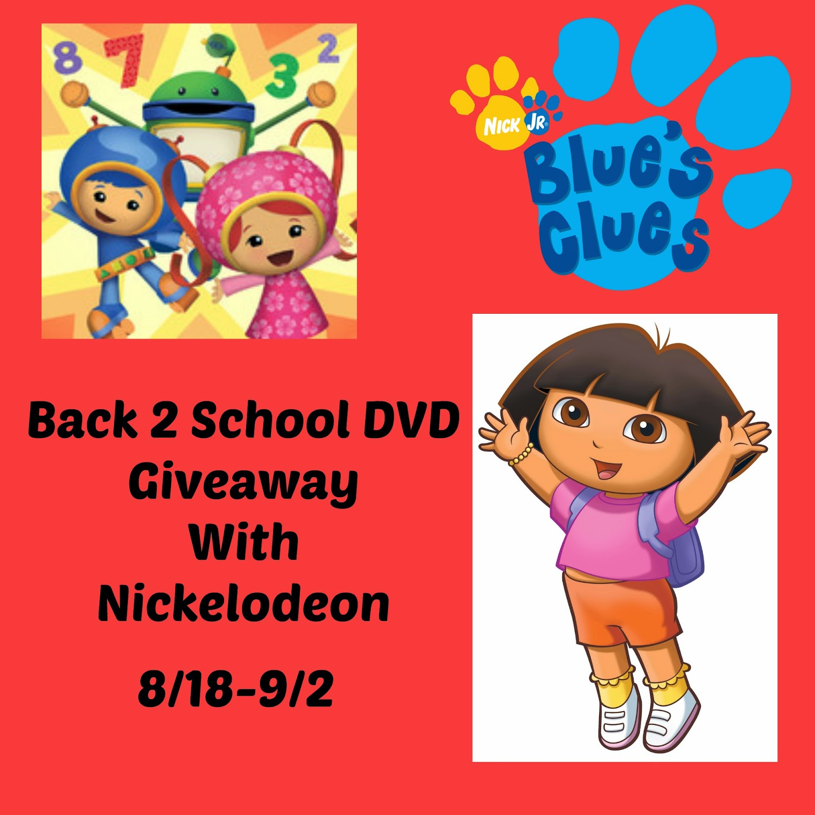 Back 2 School Nickelodeon DVD Collection Giveaway #SM2SB