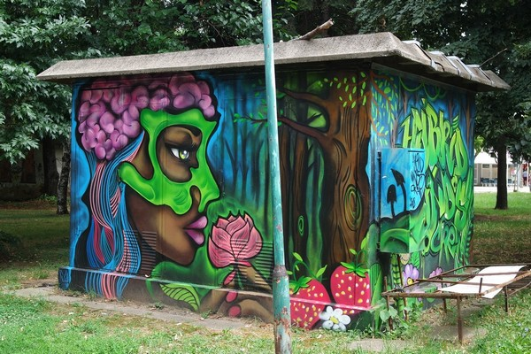 macédoine bitola street art