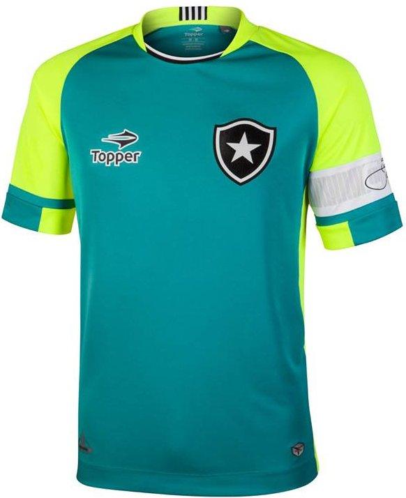015b14621c Topper e Botafogo lançam camisa exclusiva para o goleiro Jefferson ...
