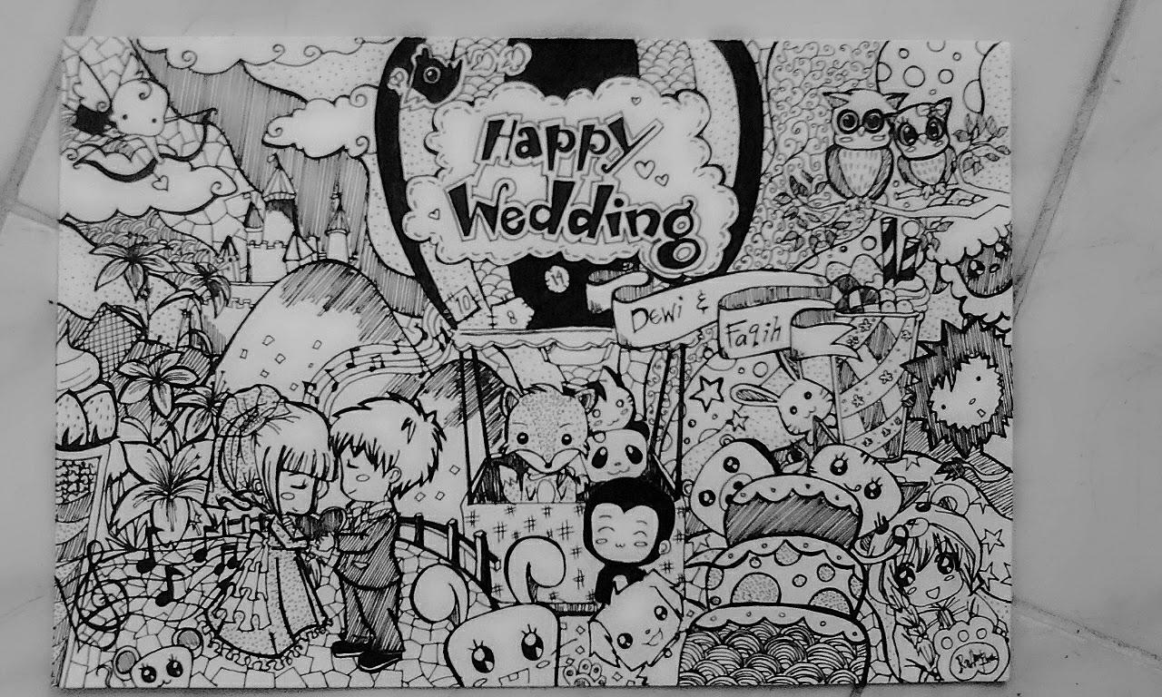 Doodle Art Romantis Nusagates