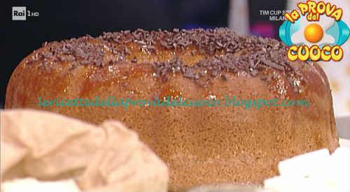 Ciambella soffice alla menta ricetta Cattelani da Prova del Cuoco
