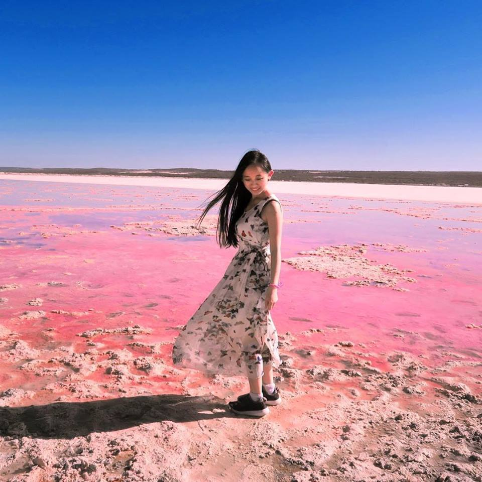 While On Our Way Back To Perth During C Coast Road Trip We Decided That A Visit The Pink Lake Will Complete Magic