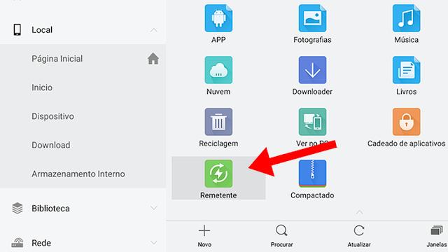 instalar APKs Android TV