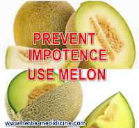 Prevent Impotence use Melon