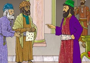 قصة وعبرة الملك والوزير Ghjuguip