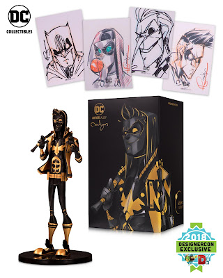 DesignerCon Exclusive DC Artists Alley Nightwing Eclipse Variant Designer Vinyl