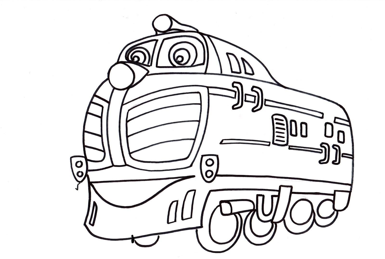 Colora un treno: Chuggington - Harry