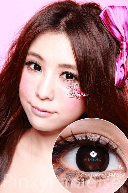 Geo Magic Black Circle Lenses (Colored Contacts)
