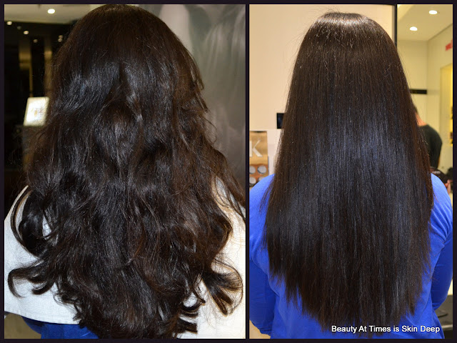 Kérastase Fusio-dose Express Hair Treatment before after