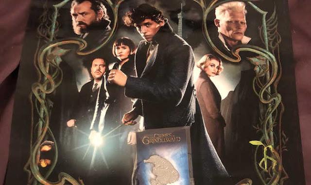 Fantastic Beasts Review, Fantastic Beasts, Crimes Of Grindelwald Review,Crimes Of Grindelwald, Crimes Of Grindelwald Cast, Harry Potter Series, Harry Potter Sequel , Hollywood Movie Review,# Movie Review,The-Crimes-of-Grindelwald-poster-