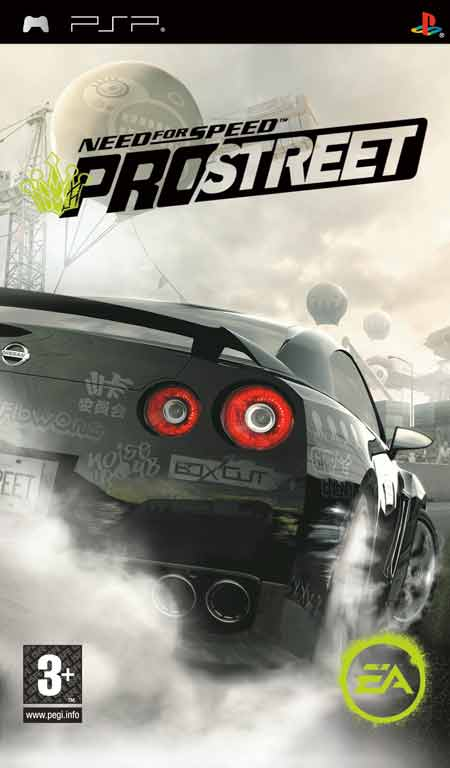 Need for Speed: ProStreet | Fire2Games: Free PSP & PS2 Games