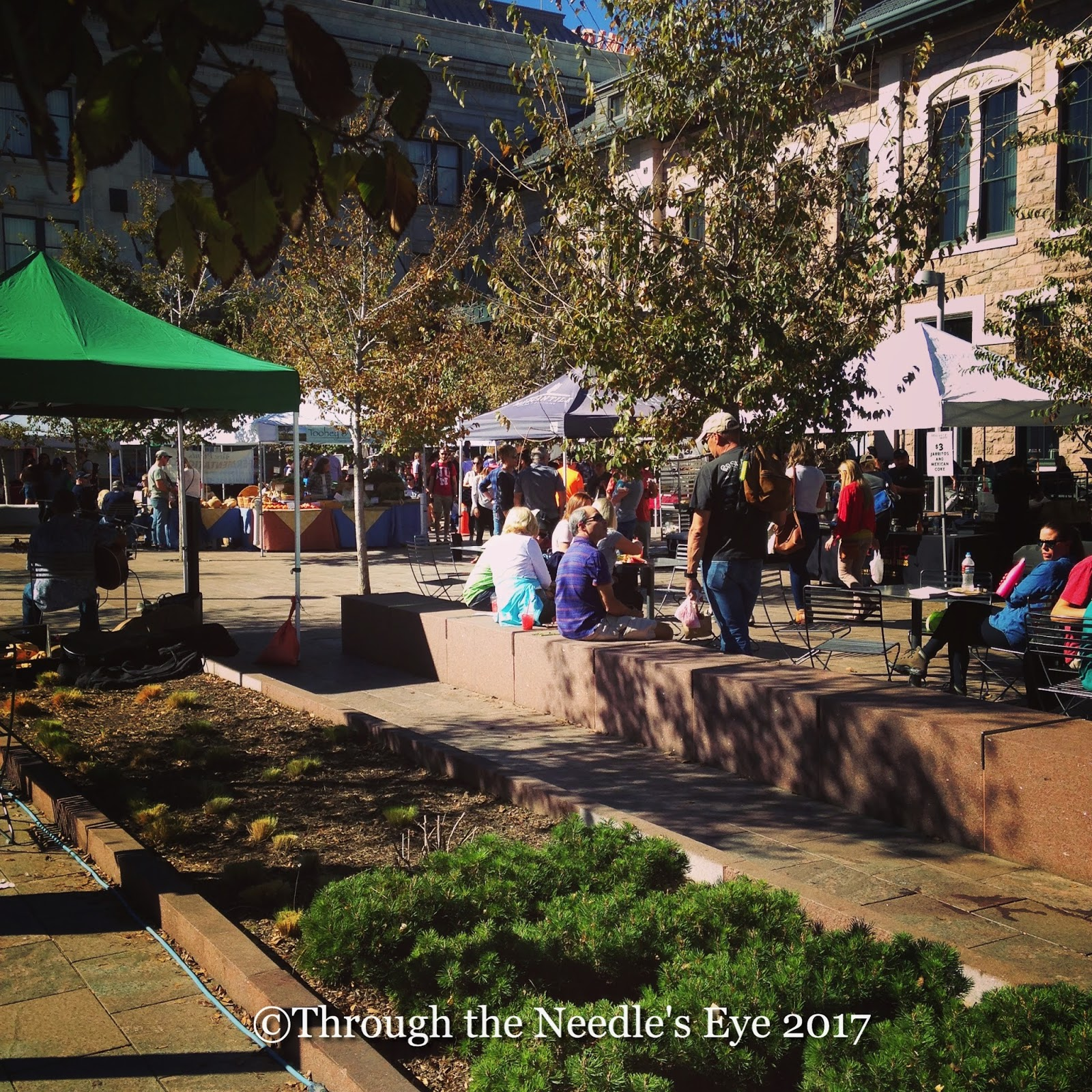 Denver Farmers Markets: Telling Stories Through The Needle's Eye: The Beauty Of