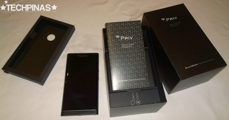 BlackBerry Priv, BlackBerry Priv Unboxing