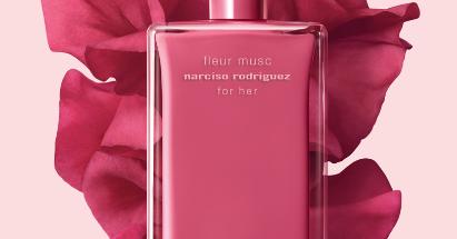 fragrant friday narciso rodriguez for her fleur musc. Black Bedroom Furniture Sets. Home Design Ideas